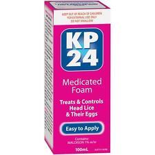 KP24 Medicated Foam 100mL HEAD LICE & EGGS TREATMENT