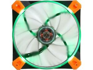 Antec Advance TrueQuiet 120 UFO GR 120mm Green LED Case Fan NEW