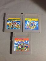 Super Mario Land 1  2  3 Nintendo GB Gameboy Wario Japan