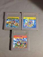 Super Mario Land 1  2  3 Nintendo GB Gameboy Wario Japan