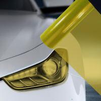 A4 Yellow Car Headlight Fog Light Tint Film  FLY021