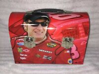 Dale Earnhardt Jr # 8 BIG Dome METAL Lunchbox