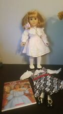 Retired American Girl Nellie Doll With Spring Party Outfit and Holiday Dress