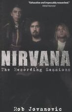 Nirvana: The Recording Sessions, book, Jovanovic, Rob, Excellent, 2012-10-01,