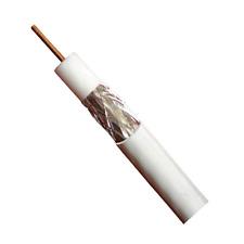 Câble Antenne Couleur Blanc Haute Qualite WISI MK99 17VATC Longueur 100 Métres
