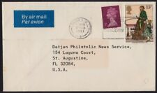 GB 1981 COVER to USA - 16p domestic @D3090