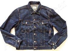 New Ralph Lauren Polo Cotton Classic Dark Blue Denim Trucker Jeans Jacket XL