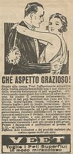 W1273 Crema depilatoria VEET - Pubblicità 1926 - Vintage Advertising