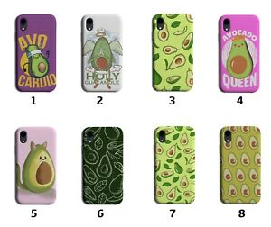 Avocados Phone Case Cover Avacado Avocado Fruit Symbol Pattern Cat Green 8004i
