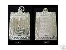 Muslim Allah Pendant Jewelry Look New Islam 2-Sided Detailed