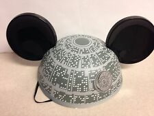 Authentic DisneyWorld Death Star Star Wars Ears Hat New