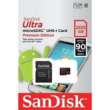 SanDisk Ultra Micro SD con SDXC Tarjeta de memoria de 200GB nuevo en el mercado minorista