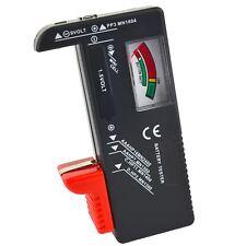 Universal Tester Comprobador de batería AA AAA C D 9V y pilas de botón V TE247