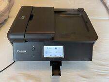 Canon Pixma TR8550 Multifunktionsdrucker - Schwarz, Airprint, LAN, Rechnung