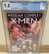 X-Men #207 CGC 9.8 1:20 Variant Messiah Complex Chapter 13 - Wolverine Hope