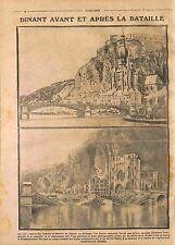 Bataille de Dinant province de Namur la Meuse Belgique Belgie Belgium  WWI 1914