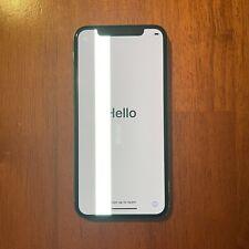 Apple iPhone X - 256GB - Silver (Unlocked) A1865 (CDMA  GSM) Green Line
