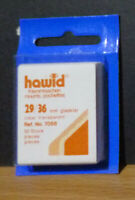 HAWID STAMP MOUNTS CLEAR Pack of 50 Individual 29mm x 36mm - Ref. No. 7058