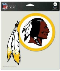 Washington Redskins - 8x8 Full Color Die Cut Decal