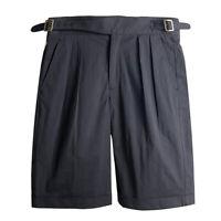 Classic Gurkha Shorts Vintage British Army Men's Military Loose Bermuda Pants