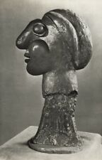 1949 Brassai Original Photo Gravure Of Pablo Picasso 1932 Bronze Sculpture Head