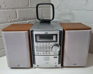 JVC UX-S59 5CD CHANGER MICRO COMPONENT STEREO HI FI MUSIC SYSTEM -  FM/AM MP3