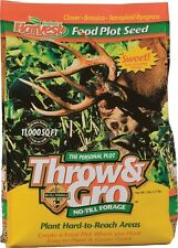 Evolved Harvest 70505 5 lb Throw & Gro Deer Plot No Till Forage Seed Mix