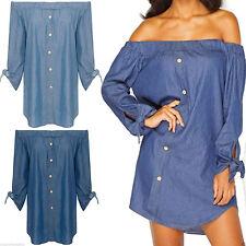 Unbranded Cotton Long Sleeve Regular Size Dresses for Women