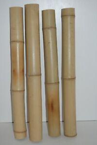 Bamboo Pole Tube 60cm, 5 cm - 6 cm Thick, Reptile, Craft, Aquarium