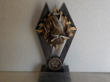 """New Martial Arts Karate, trophy or award, w/ engraving, about 7"""" tall boys girls"""