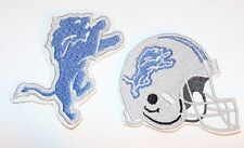 Detroit Lions Embroidered NFL  Iron-on Patch FREE SHI