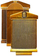 Rolls Royce Brass Gold Color $ Money Clip Vehicle Motor Car Grill Insignia RR-10