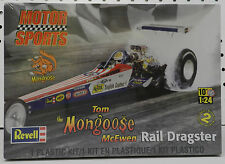 DRAG TOM MCEWEN DRAGSTER RACE NHRA MONGOOSE NAVY MOPAR TOP FUEL REVELL MODEL KIT