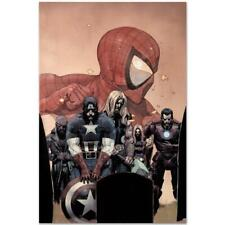 MARVEL Comics Limited Edition Ultimate Avengers (9) Numbered Canvas Art