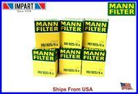 BMW 2 Mann Oil Filter 6 Cylinder  HU925/4x 11 42 7 512 300  qty. 6