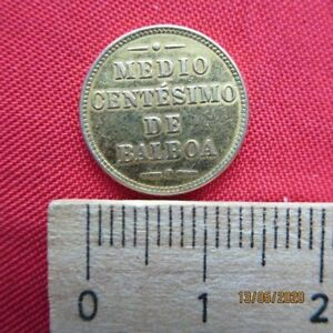 Republica De Panama - Medio 1/2 Centesimo De Balboa 1907