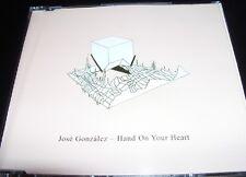 Jose Gonzalez Hand On Your Heart Australian (Kylie Minogue Cover) CD Single