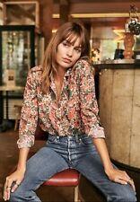 Sezane Pierro Shirt - Jaipur Flowers Print Size 36