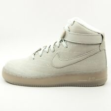 $130 WOMENS NIKE AIR FORCE 1 HI FW QS LEATHER SIZE 7.5 NEW 704010 001