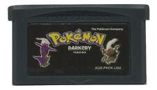Pokemon Dark Cry Version Game Boy Advance GBA FAN TRANSLATION Hack Homebrew