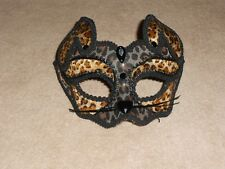 Nwot, Fashion Cat Mask From Claire'S
