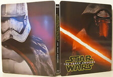 Star Wars: The Force Awakens Collectible Steelbook ONLY (NO MOVIE) - BRAND NEW
