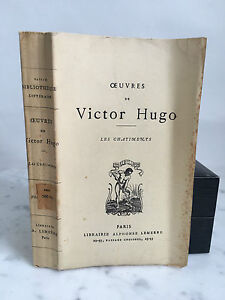 Oeuvres Di Victor Hugo I Caporale Alphonse Lemerre 1926