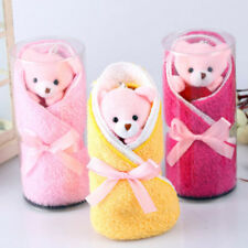Cute Teddy Bear Towel Baptisms Christenings Confirmation Wedding Favours Gifts