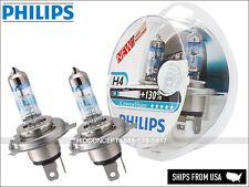 NEW Authentic Philips X-treme Vision H4 +130% 12342XV+S2 Halogen Headlight bulbs
