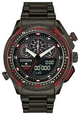 Citizen Eco Drive ProMaster SST Stainless steel Black Dial Mens Watch JW0137-51E