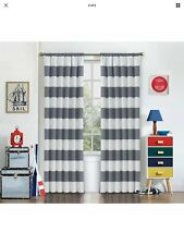 Single Eclipse Window Curtain Panel Grey Peabody 42 X 84 Inches NEW
