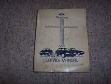 1992 Ford Mustang Shop Service Repair Manual LX GT Convertible 2.3L 5.0L V8