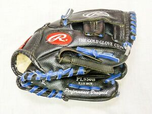 Rawlings Youth Baseball Glove Model Pl950B and 3 Baseballs
