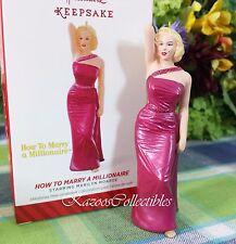 Hallmark Marilyn Monroe How to Marry a Millionaire 2014 ornament